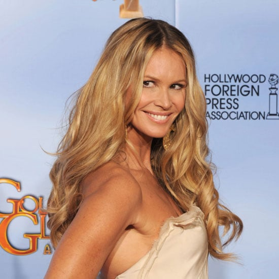 Elle Macpherson Hair and Makeup from the 2012 Golden Globes