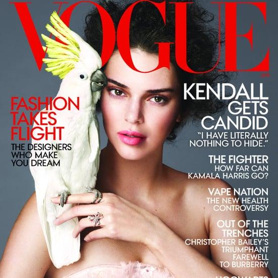 Kendall Jenner Vogue Cover April 2018