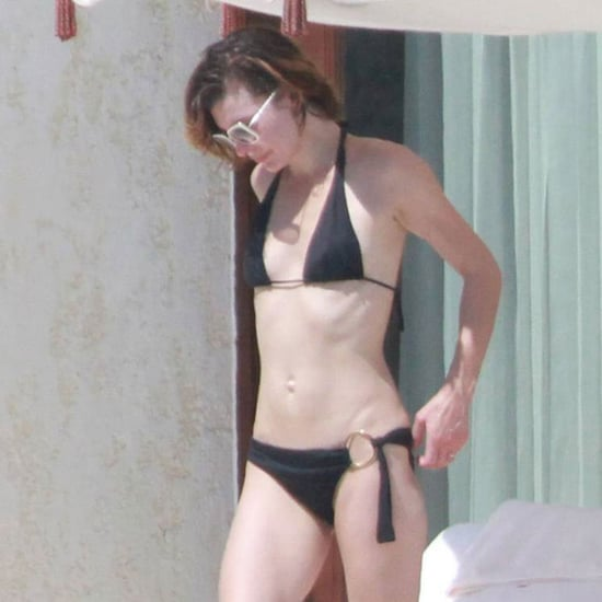 Pictures of Milla Jovovich in a Bikini on Vacation in Mexico