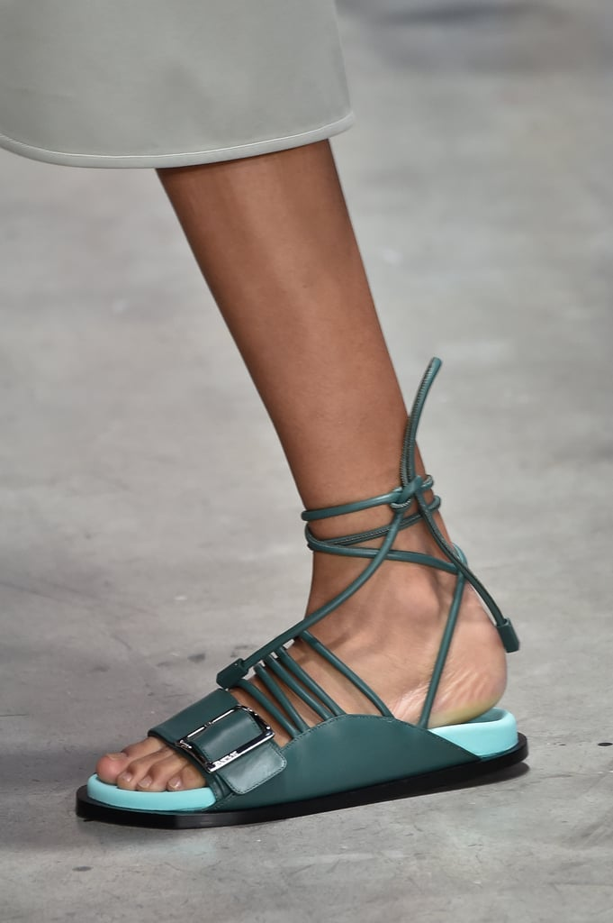 Sandal Trends 2020.The Best Shoes From Fashion Week Spring 2020 Popsugar Fashion