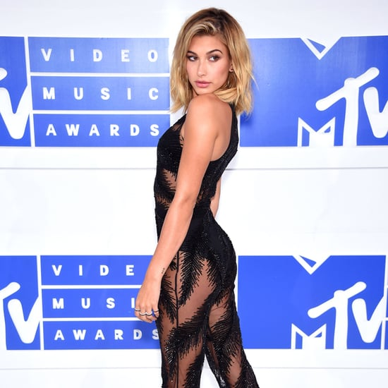Hailey Baldwin's Georges Chakra Jumpsuit at the 2016 VMAs