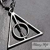 Harry Potter Deathly Hallows necklace ($5)