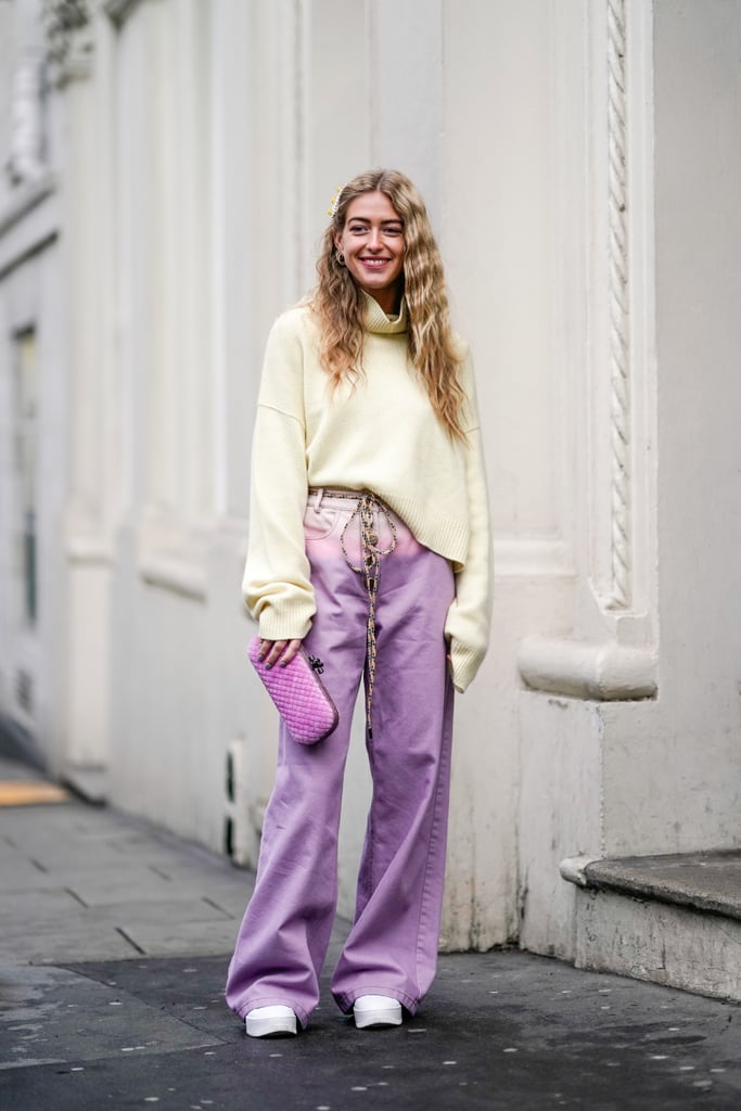 How to Wear Colored Jeans Affordable