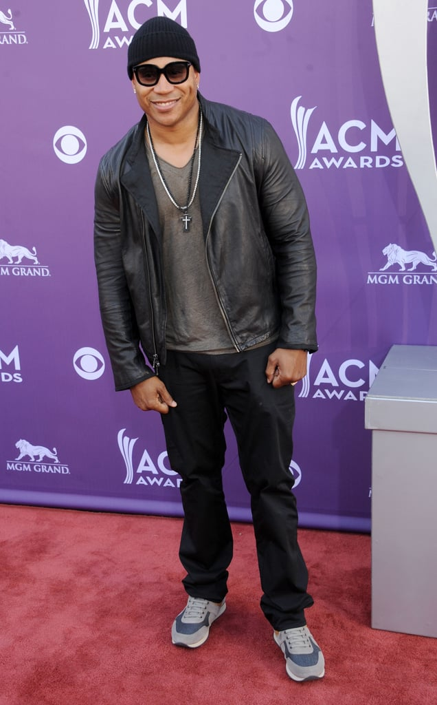 LL Cool J dropped by the awards.