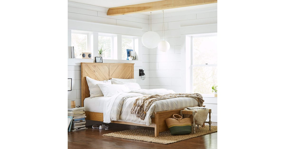 Stone Amp Beam Parson Queen Bed Best Furniture From Amazon