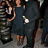 Tracy Reese and Robert Verdi at Michael Aram's 25th anniversary benefit.