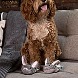 Bark Itty & Bitty the Slippers Dog Toy