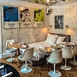 For an extrafun gastronomical experience, head over to Derrière. (Yes, you read the name correctly!) What makes this clandestine restaurant so unique is how each room houses a different theme. So whether you end up eating on a bed or in a room tucked behind a secret door, it'll be a dinner to remember.