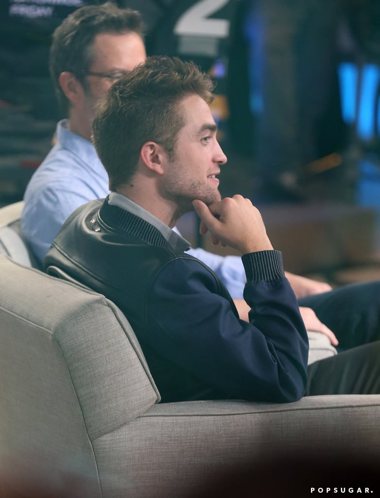 "Robert Pattinson Wants a ""Side Career as a Male Stripper"""