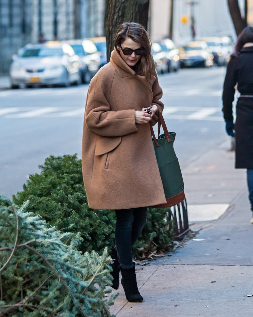 Keri Russell Pregnant Pictures January 2016