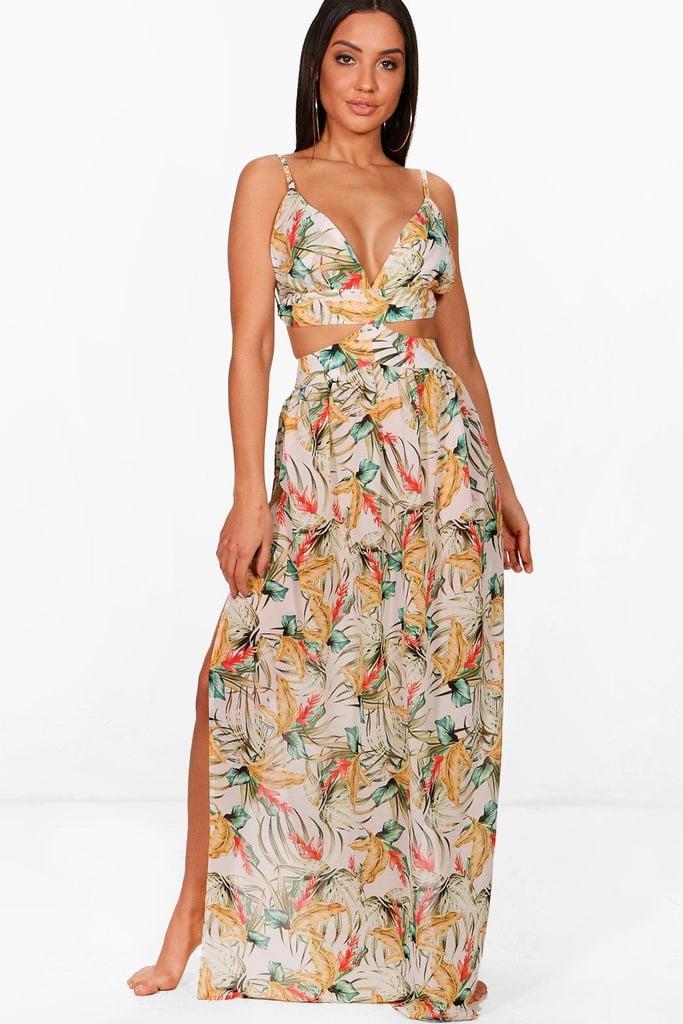 Boohoo Printed Dress
