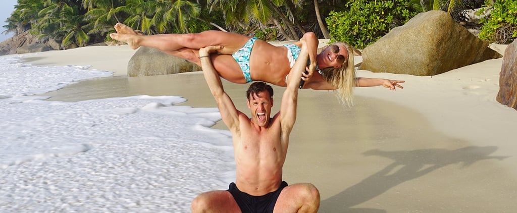Julianne Hough and Brooks Laich's Honeymoon Workout Is the Epitome of #CoupleGoals