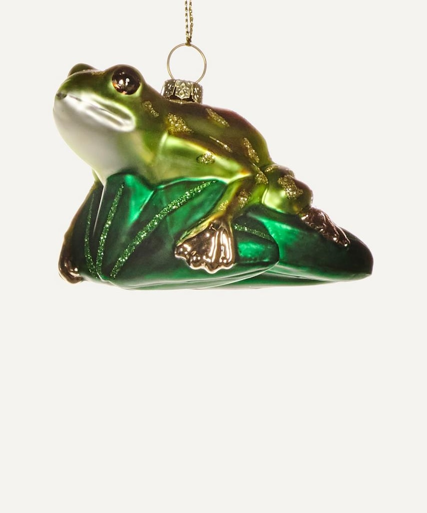 Liberty London Frog on Lily Pad Decoration
