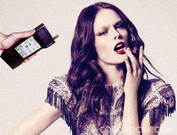 Coco Rocha loves her iPhone case. We do, too.