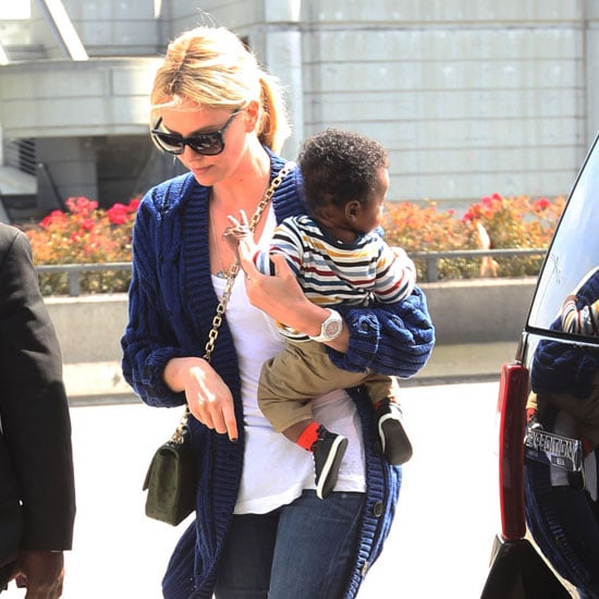 Pictures of Charlize Theron's Son Jackson Theron