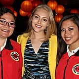AnnaSophia Robb wore a bright yellow blazer to City Year's third annual Spring Break: Destination Education fundraiser party in LA.