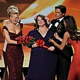 Melissa McCarthy was crowned outstanding supporting actress in a comedy series by her fellow contenders.