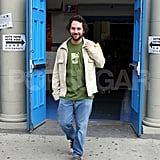 Paul Rudd rocked the vote in NYC during Nov. 2004.