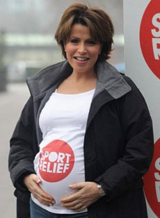 Photos of Natasha Kaplinsky Who Has Given Birth to a Girl New Baby Pictures