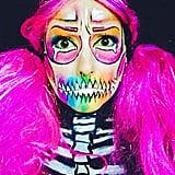 Lisa Frank Skeleton