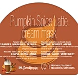 Pumpkin Spice Latte Cream Mask