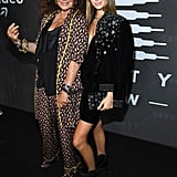 Diana and Talita von Furstenberg at the Savage x Fenty New York Fashion Week Show