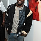 Kevin Hart flashed his smile at the Treats! Magazine party.