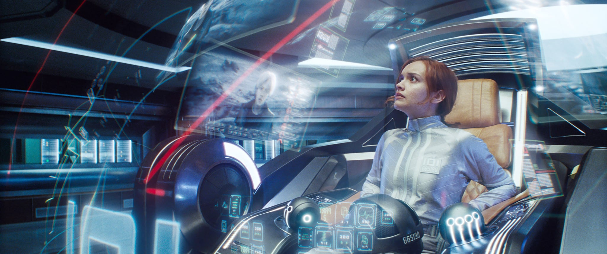 READY PLAYER ONE, Olivia Cooke, 2018.  Warner Bros. Pictures/Courtesy Everett Collection