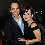 Elizabeth Reaser and Peter Facinelli cracked up at a Twilight afterparty.