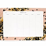 Moms juggle many things, so this pink leopard weekly desk pad ($12) is a great gift that will help her juggle doctor's appointments, meetings, playdates, and so forth.