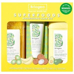 Be Gentle, Be Kind Banana + Coconut Superfoods Nourishing Hair Value Set