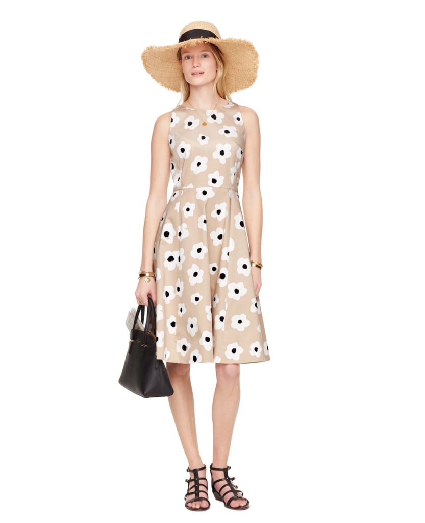Kate Spade Faye Floral Fit and Flare Dress ($398)