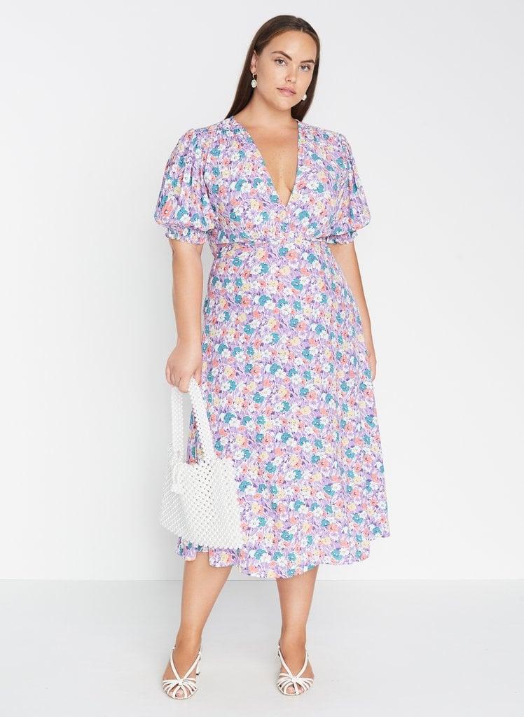 Faithfull The Brand Marie-Louise Midi Dress Nefeli Floral
