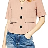 Topshop Charlie Button Down Top