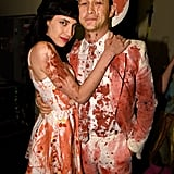 Joseph Gordon-Levitt and Tasha McCauley as Bloody Country Singers