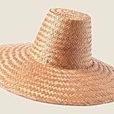 Toast Mei Wide Brim Straw Hat