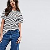 Whistles Bonjour Stripe T-Shirt