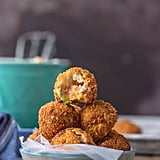Deep Fried Loaded Mashed Potato Bites