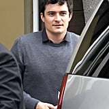 Orlando Bloom ran errands in LA.