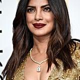 Priyanka Chopra's Makeup and Hair at the 2017 Golden Globes
