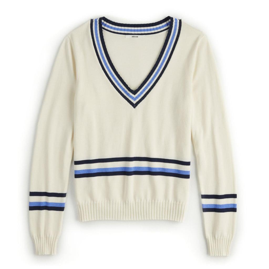 POPSUGAR Collegiate Sweater