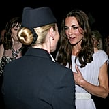 Kate Middleton at BAFTA Brits to Watch dinner.