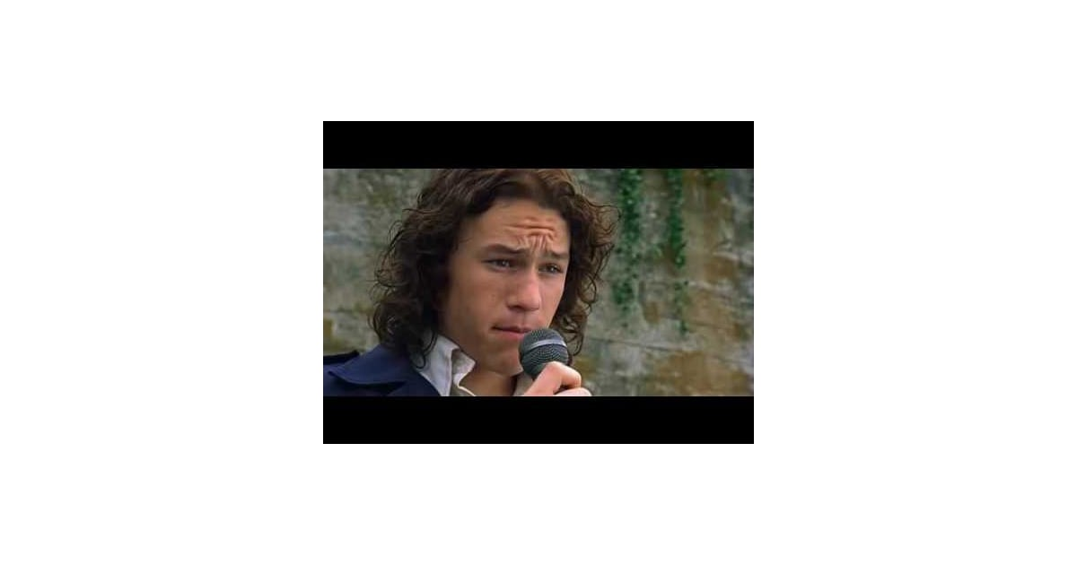 10 Things I Hate About You Soundtrack: Heath Ledger In 10 Things I Hate About You