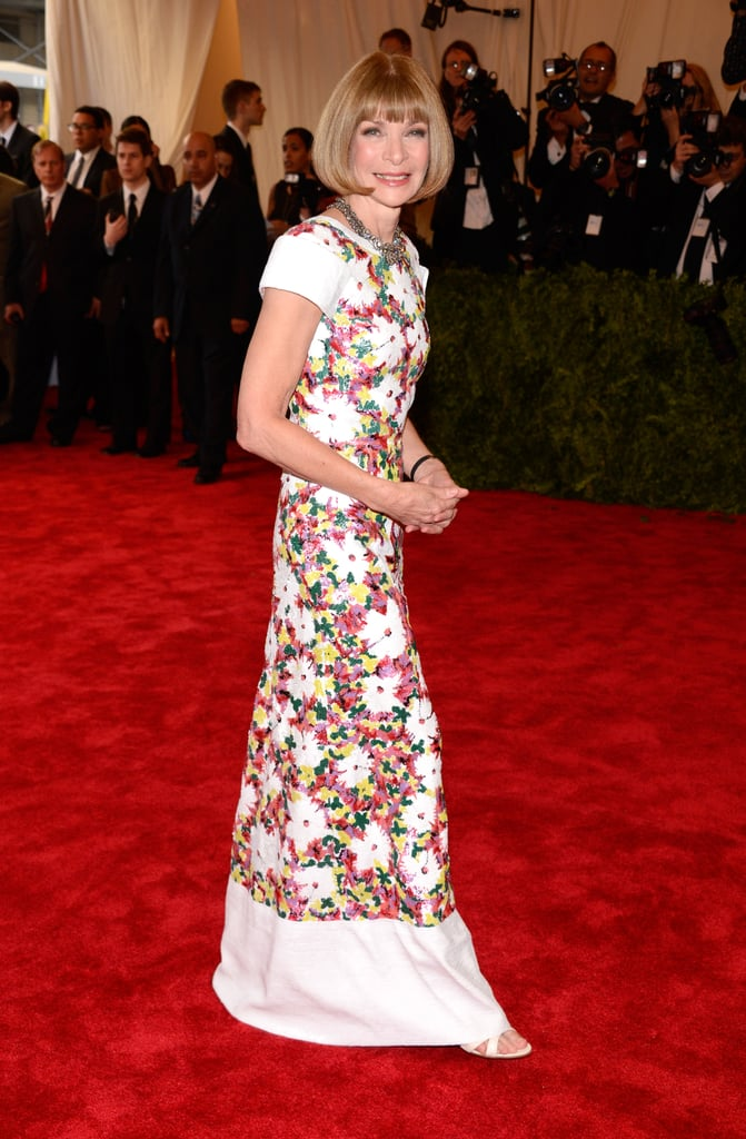 Anna Wintour at the Met Gala 2013.