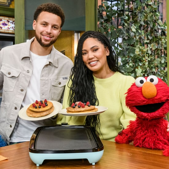 Steph and Ayesha Curry Talk Healthy Eating on Sesame Street