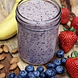 Almond Berry Banana Yoghurt Smoothie