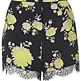 Topshop safari print shorts (£35)
