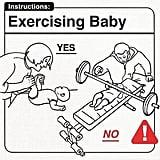 Exercising Baby