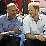 A Bromance With Barack Obama . . .