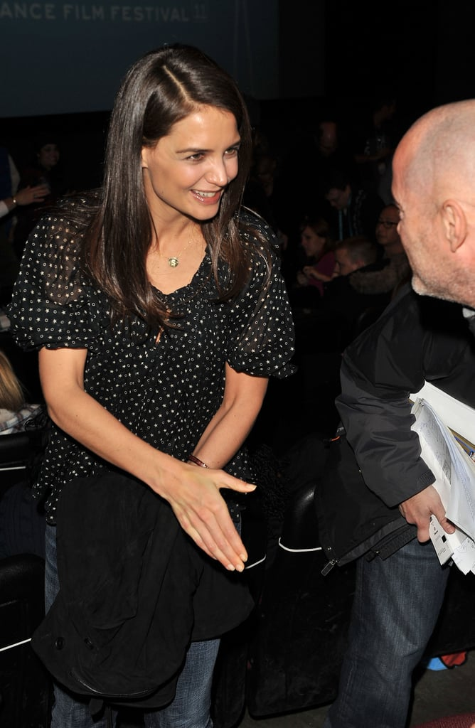 Pictures of Katie Holmes and Channing Tatum at Sundance